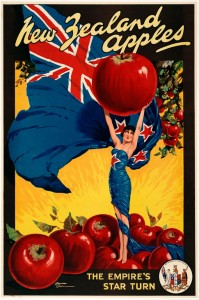 New Zealand Apples, by Edward Cole, ca. 1925-1935. Alexander Turnbull Library. Eph-E-FRUIT-1930s-01
